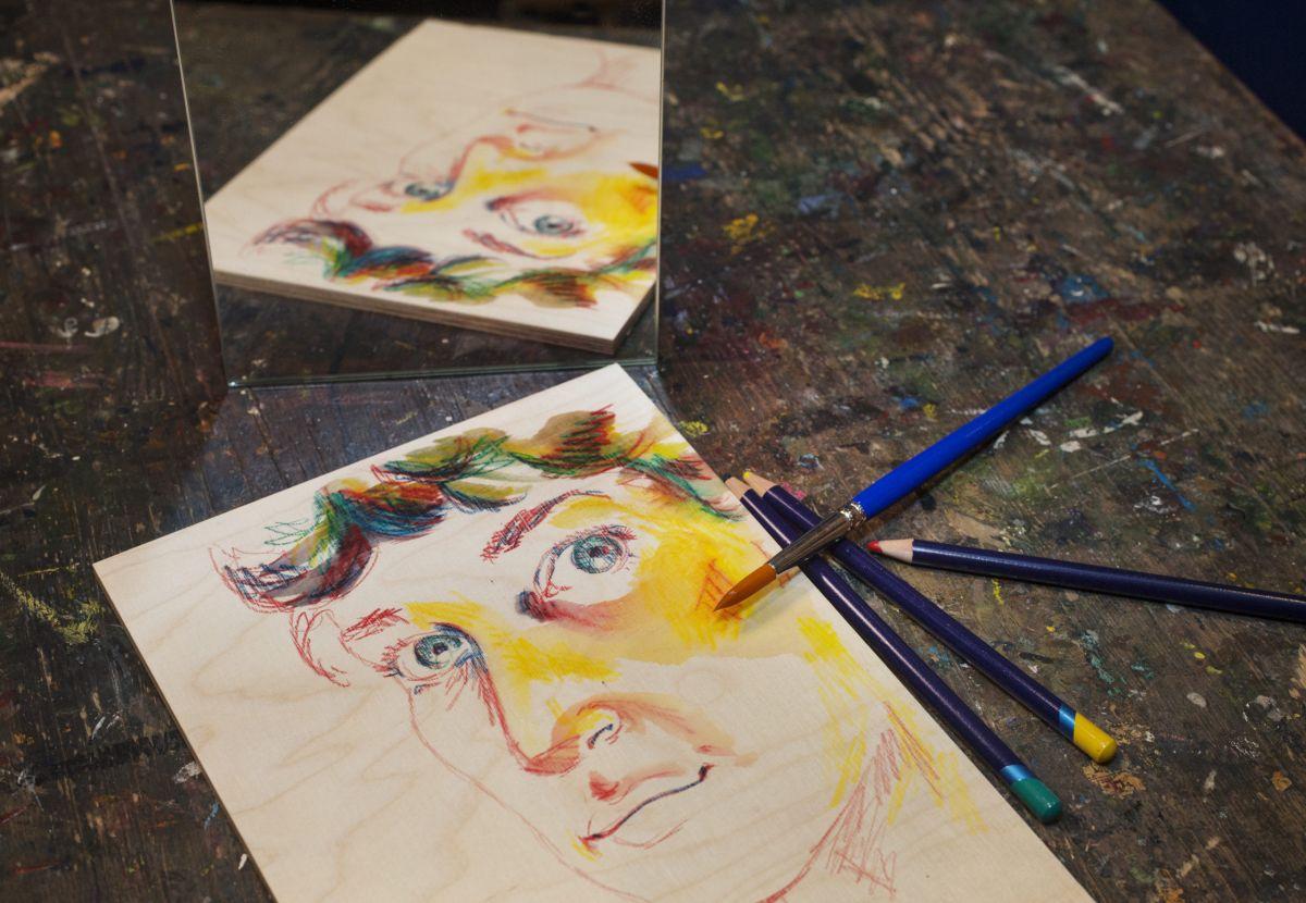 Museokortti-etu: Ollaan ihmisiksi  piirustus- ja maalauspaja