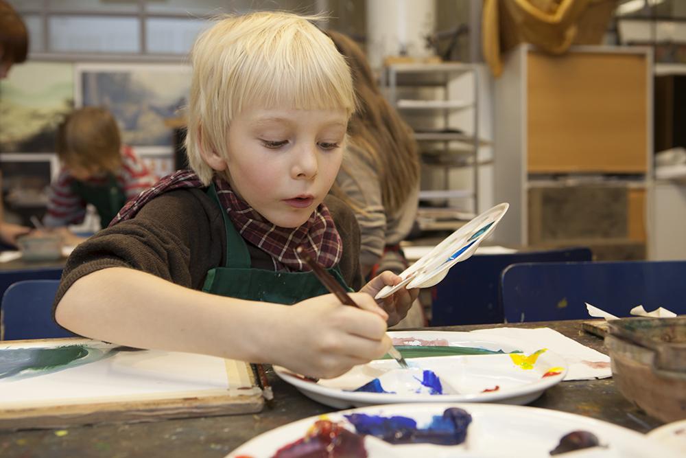 Tapahtuma: Maalaa yhdessä lapsen kanssa